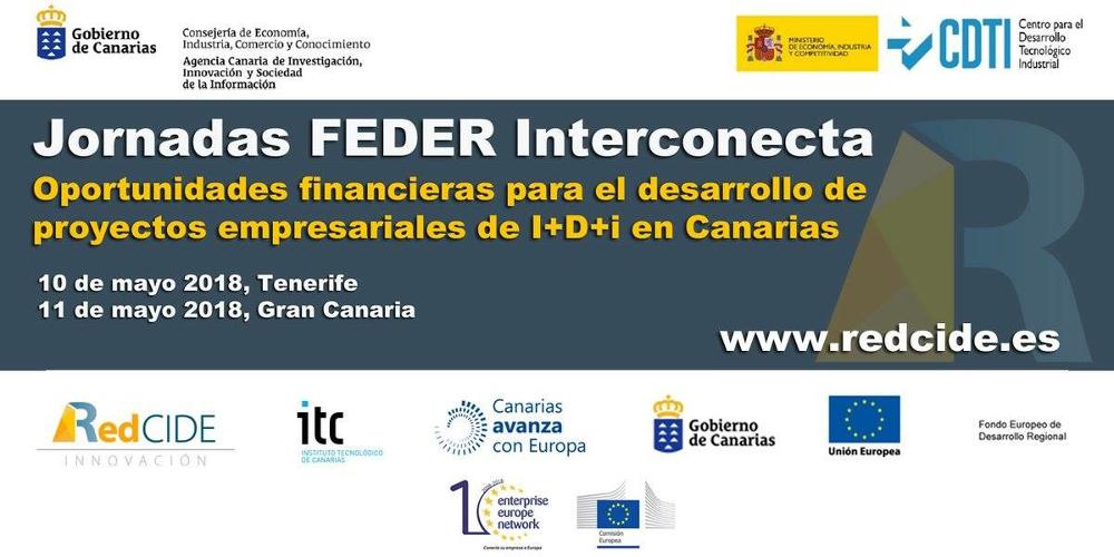 Jornadas FEDER INTERCONECTA 2018.