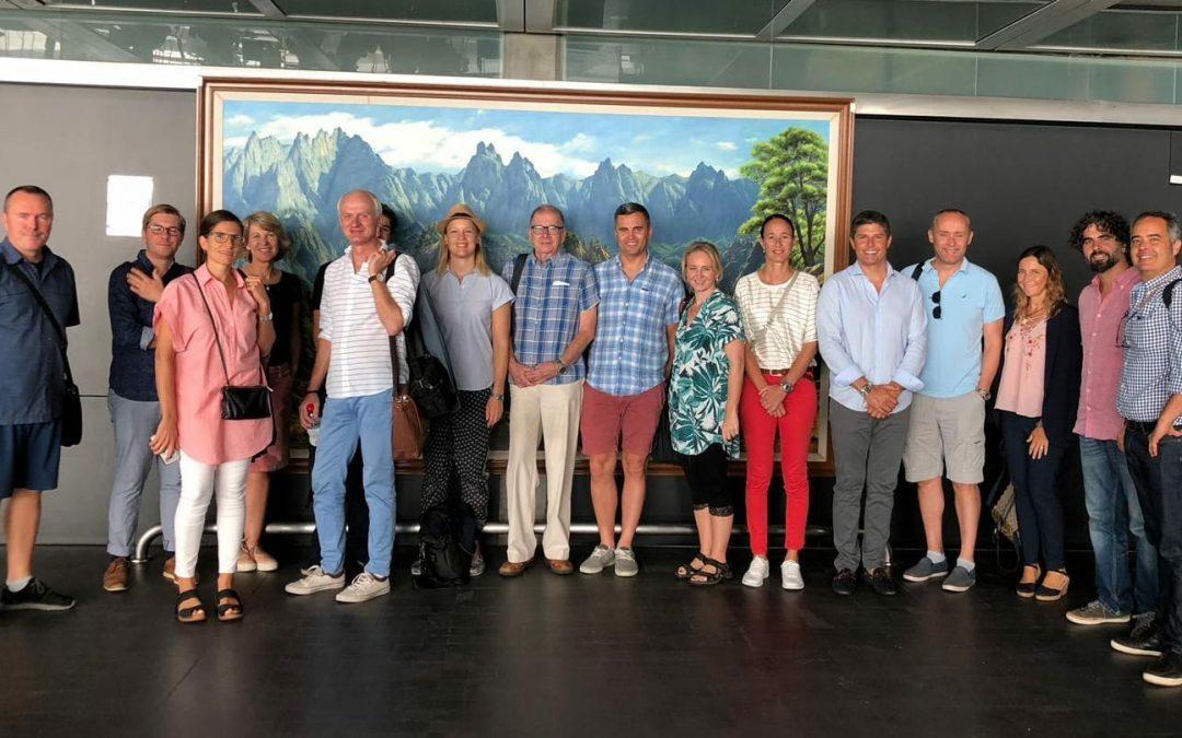Una delegación de empresas de Suecia y Noruega se interesan por la oferta de vinos de Canarias