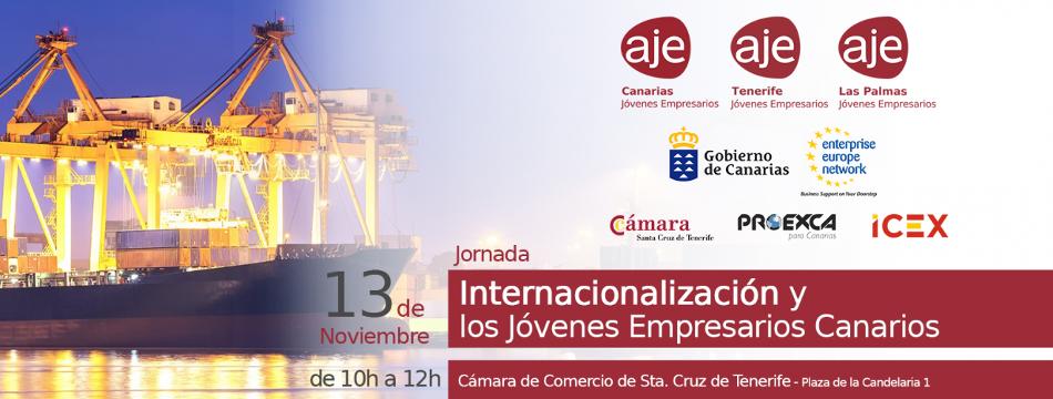 """Jornada en TENERIFE: """"Internacionalización y los Jóvenes Empresarios Canarios"""""""