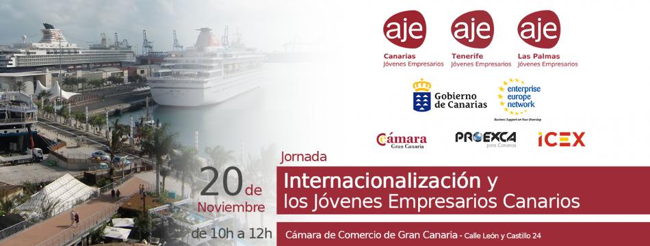"""Jornada en GRAN CANARIA: """"Internacionalización y los Jóvenes Empresarios Canarios"""""""