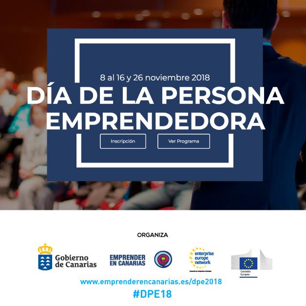 Programa del Día de la Persona Emprendedora en Canarias.
