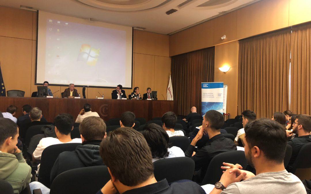 Los jóvenes empresarios de Tenerife reciben las claves para acceder con seguridad al mercado internacional