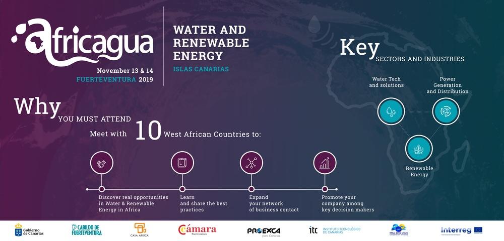 Encuentro empresarial AFRICAGUA CANARIAS 2019