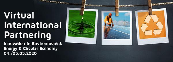 """Encuentros internacionales online 4 y 5 de mayo 2020 – """"Innovación en Medio Ambiente, Energía y Economía Circular"""""""