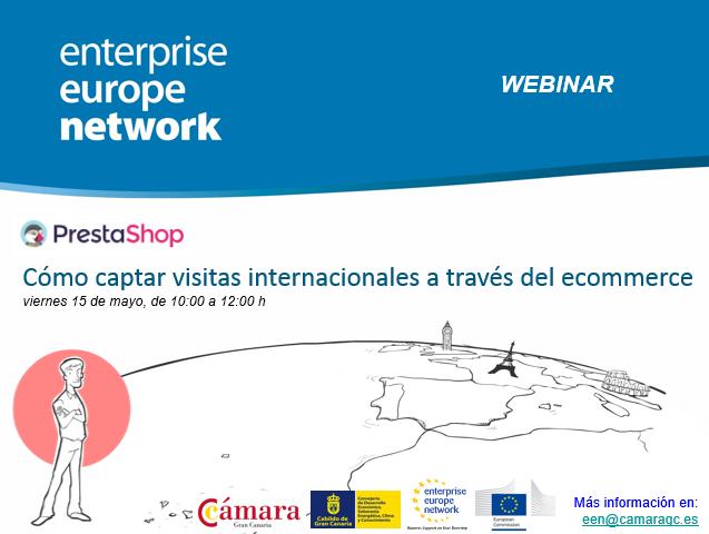 Webinar Prestashop «Cómo captar visitas internacionales a través del ecommerce»